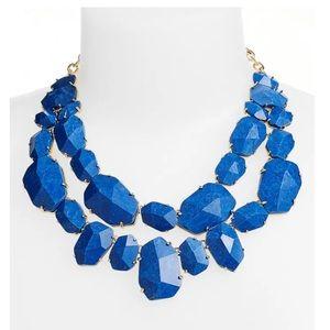 """Kate Spade """"Quarry Gems"""" Bib Necklace"""